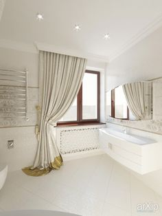 Ванная комната для девушки от Kucherenko Design: интерьер, зd визуализация, квартира, дом, санузел, ванная, туалет, неоклассика, 10 - 20 м2, интерьер #interiordesign #3dvisualization #apartment #house #wc #bathroom #toilet #neoclassicism #10_20m2 #interior arXip.com