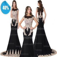 Find More Prom Dresses Information about Real Picture  New Arrival Dress For Prom Party Dress Black Lace Appliques Beaded  Vestido De Formatura Evening Dresses 2015,High Quality arrival hd,China dress l Suppliers, Cheap dress sport from party  Queen Fashion Store on Aliexpress.com