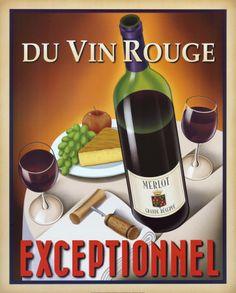 Du vin rouge exceptionnel
