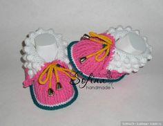 Вяжем пинетки-ботиночки для малышей / Мастер-классы, творческая мастерская: уроки, схемы, выкройки для кукол / Бэйбики. Куклы фото. Одежда для кукол