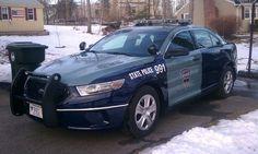 New Massachusetts State Police Cruiser
