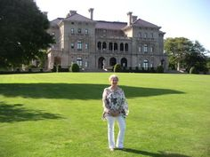 Barbara Segal campaigning for The National Trust for Historic Preservation The Breakers MATTERS to me.