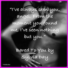 I absolutely love the crossfire serie! Bared to You by Sylvia Day