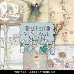 Far Far Hill: Freebies Vintage Book Illustrations