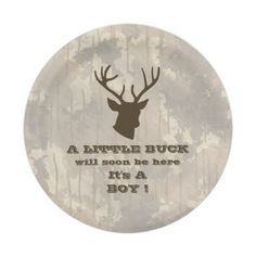 Funny Hunting Camouflage Brown Boy Baby Shower Paper Plate  sc 1 st  Pinterest & Cycling Cyclist Happy Retirement Blue Grey R Paper Plate | Happy ...