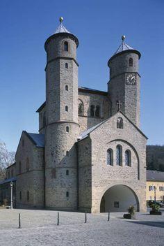 St. Chrysanthus und Daria in Bad Münstereifel in Bad Münstereifel, Architektur - baukunst-nrw