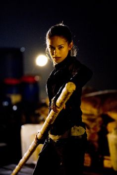 Kristin Kreuk in Street Fighter: The Legend of Chun-Li (She Kicks Ass!!)