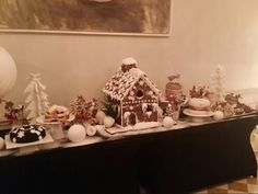Gingerbread Christmas decorations 2014.by Amber Room restaurant in Poland.