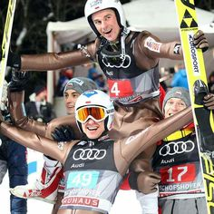 This is just amazing!!!!!!!!! Two Poles on the podium in 4 Hills tournament, one at 4th place and 6 in the final round!!!!!! Brawo Kamil Stoch i Piotr Żyła!!!! Kamil Stoch #1 and Piotr Żyła #2