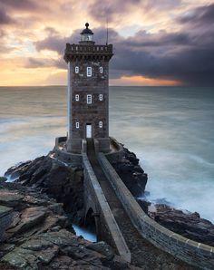 Kermorvan Lighthouse, Conquet, Bretagne