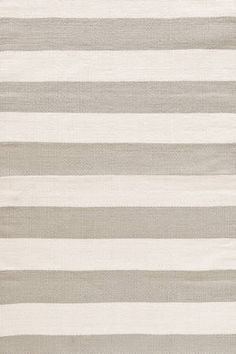 Dash & Albert's Catamaran Stripe Indoor/Outdoor Rug in Platinum & Ivory featured on Bryn Alexandra