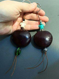 Sea heart key chains