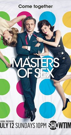 Created by Michelle Ashford.  With Michael Sheen, Lizzy Caplan, Caitlin FitzGerald, Teddy Sears. Drama about the pioneers of the science of human sexuality whose research touched off the sexual revolution.
