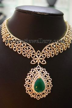 Diamond Necklaces by Naj Jewellery