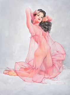 ★ ✯✦⊱ ❤️ ⊰✦✯ ★ LINGERIE ~Illustration by Artist Olivia De Berardinis ★ ✯✦⊱ ❤️ ⊰✦✯ ★ #pinups