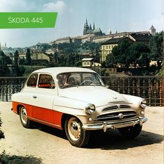 SKODA 445 #SKODA #SkodaStory Retro Cars, Vintage Cars, Antique Cars, Classic European Cars, Classic Cars, Volkswagen Group, Mini Trucks, Old Cars, Volvo