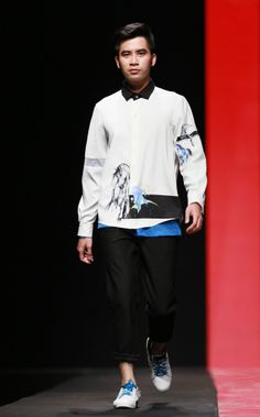 Vietnam Fashion Week FW14 - Ready to wear. Designer: Van Hien - May Viet Thang. Photo: Thanh Dat