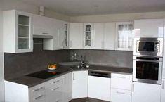 Moderní rohová kuchyně Carmen - bílý lesk Kitchen Sets, Kitchen Cabinets, Diana, Home Decor, Ideas, Living Room, Diy Kitchen Appliances, Decoration Home, Room Decor