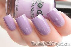 Dazzle Dry Lavender Parade Light Purple Nails Nail Polish Accessories