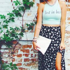 lost in love- Rebel Redefined crop top
