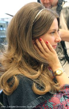 A/W hair trend: by Oscar Oscar Lovely Nails lovely nails mayfield Elegant Hairstyles, Bride Hairstyles, Headband Hairstyles, Vintage Hairstyles, Weave Hairstyles, Cool Hairstyles, 1960s Hairstyles, Hairstyles Videos, Formal Hairstyles