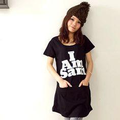 """""""I Am Sam"""" T-Shirt Dress"""