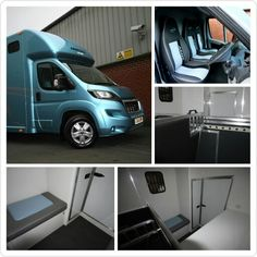 Internal images of the standard 3.5 tonne Aeos horsebox - its also upgradable to 4.5 tonnes! #HorseHour #KPHLTD