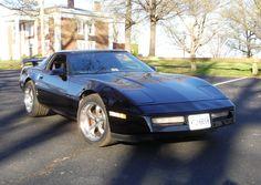 1988 Corvette C4 at Jackson Park in Roanoke VA