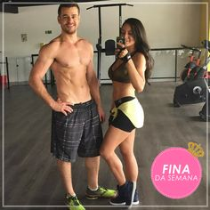 Natália Nunes divando em seu treino!
