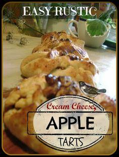 TSG: Rustic Cream Cheese Apple Tarts
