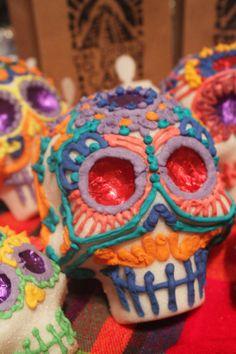 Handmade Day of the Dead Sugar Skulls