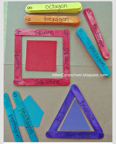 Great Way To Help Your Kid Learn Shapes