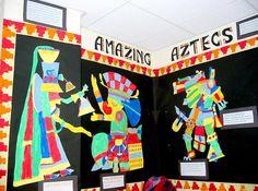 Amazing Aztecs - Fynamore Primary School in Calne, Wilts