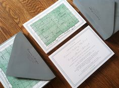 Map of the Heavens / wedding invitations  / celestial / by: Blue & Theory
