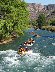 White water rafting in Jarabacoa and Constanza. DOMINICAN REPUBLIC