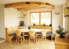 alrberg breakfast nook,corner bench,kitchen booth, solid ...