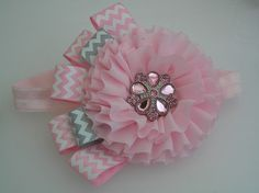Baby Headband  Girls Headband Chiffon by LittleDivaBoutique, $14.00