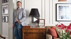 Philip Mitchell's Traditional Apartment Decor // House & Home Online TV Home Tours