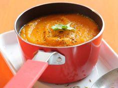 Découvrez la recette Velouté de carotte au cumin et au curcuma sur cuisineactuelle.fr.