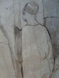 CHASSERIAU Théodore,1846 - Arabe barbu et autres Figures - drawing - Détail 21
