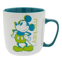 Mickey Mouse Color Contrast Mug