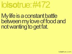 Or stay fat.