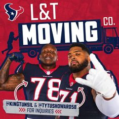 Book with them. They get the job done 💪 The post Houston Texans: Book with them. They get the job done … appeared first on Raw Chili.