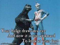 godzilla   ... Godzilla Haiku . They even featured one of mine once upon a time