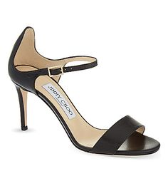JIMMY CHOO Moxy 85 kid leather heeled sandals