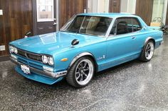 This 1972 Nissan Skyline