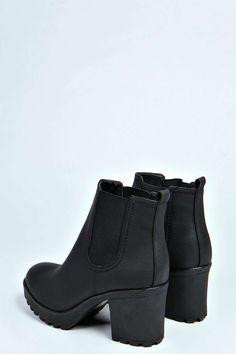 Tia Chunky Cleated Heel Chelsea Boot alternative image