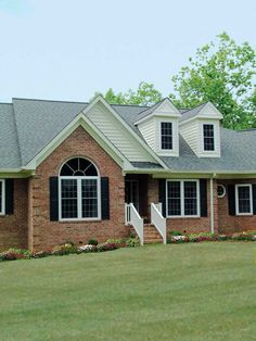 Southern House Plan Front | Plan 016D-0005 | House Plans and More