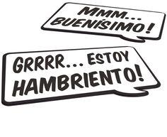 Manteles individuales speak up! castellano