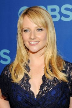 Melissa Rauch attended the 2013 CBS Upfront Presentation at the Tents at Lincoln Center in New York City, May 2013.